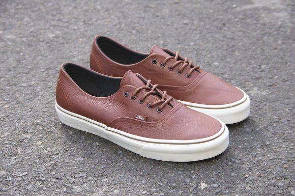 Vans California Authentic Decon Leather Tenis Feminino Sapatos Tenis
