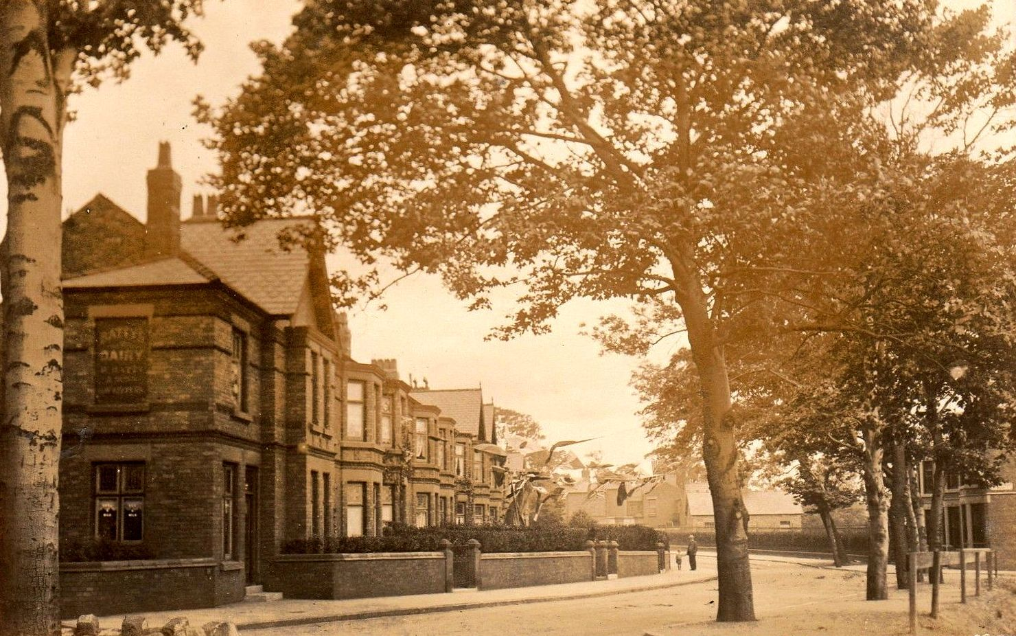 Prince Alfred road, Wavertree. Early 1900's. Liverpool