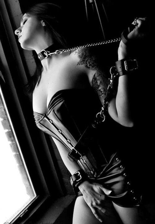 Collar and cuff femdom — photo 14