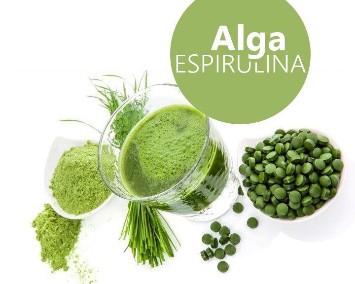La Alga Espirulina Aporta Un Proteinas Vitaminas Y Minerales Con