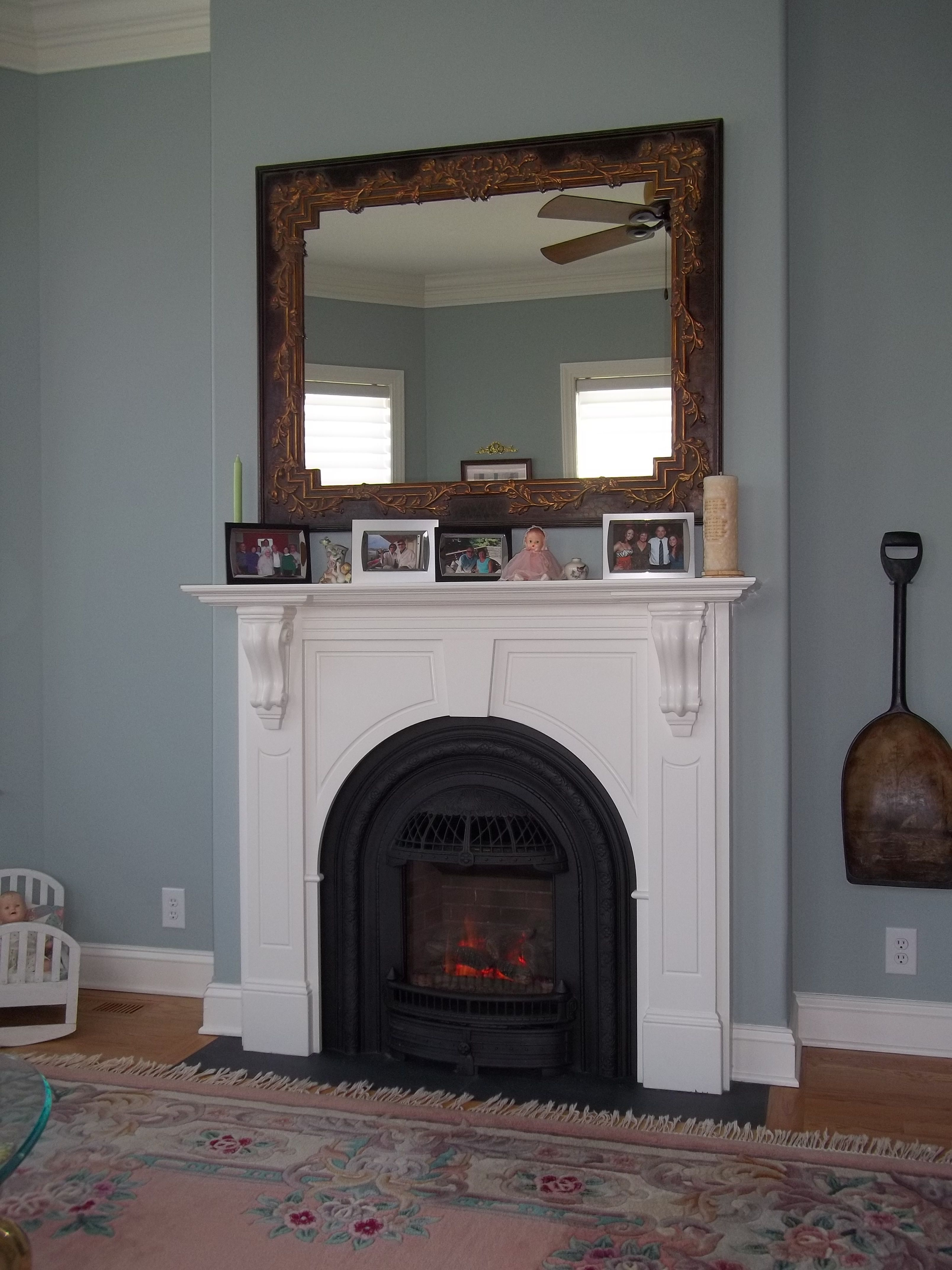 The Valor Windsor Arch Portrait Style Gas Fireplace Making A