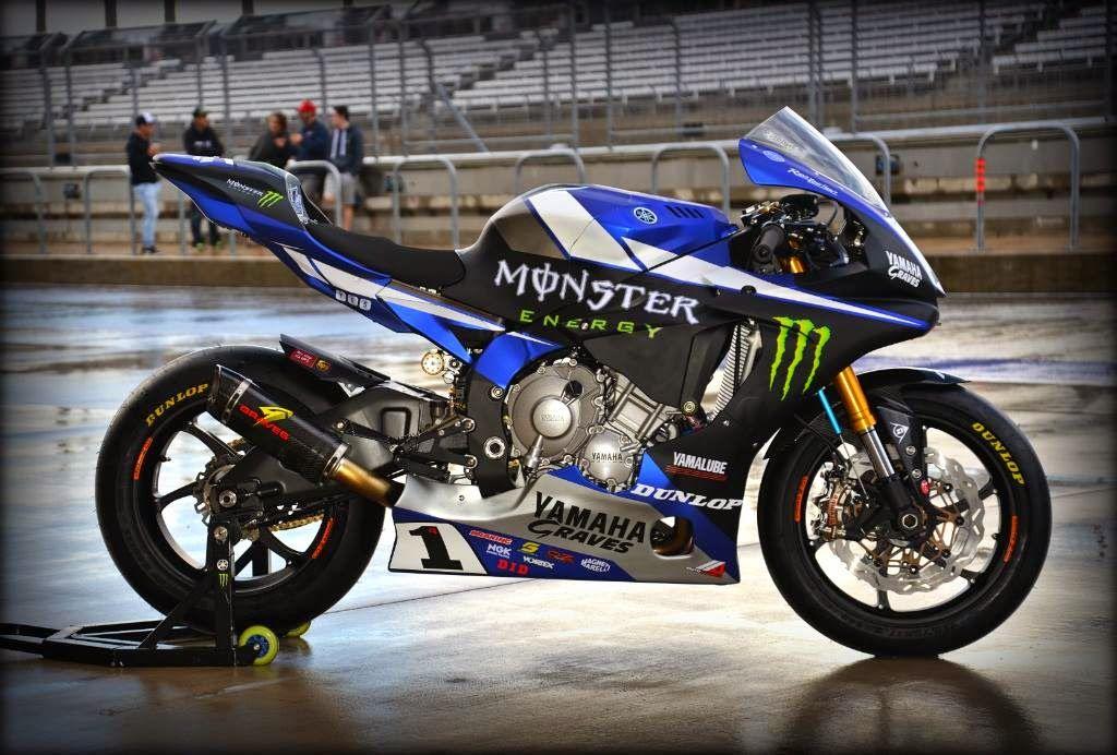 Yamaha YZF-R1 AMA Team Monster Energy Graves Yamaha 2015
