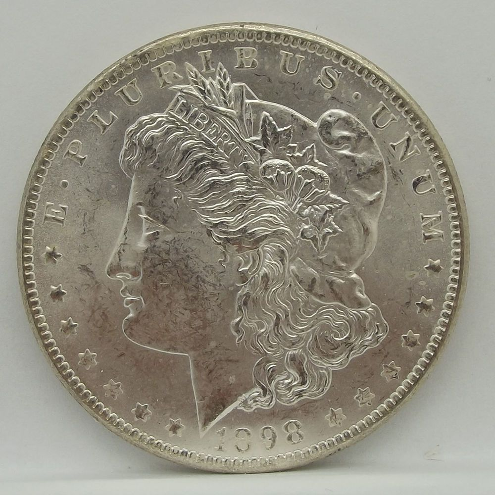 1898 O Morgan Silver Dollar Uncirculated Mint Condition Morgan Silver Dollar Silver Coins Silver