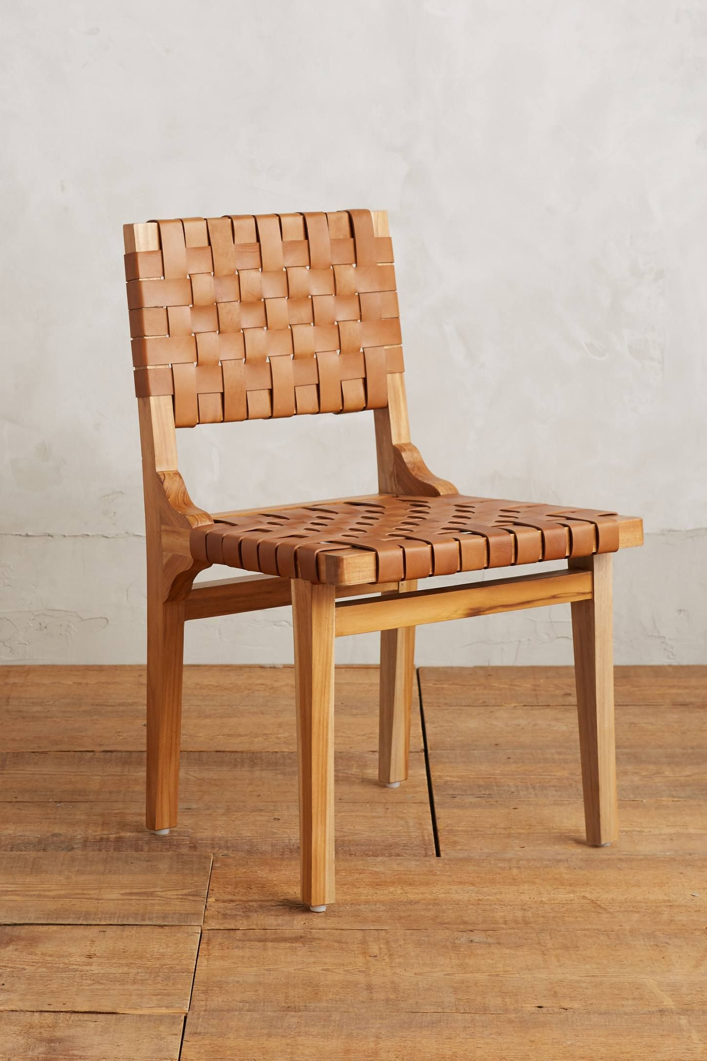 Shop The Leather Loom Dining Chair And More Anthropologie At Anthropologie Today Read Customer Reviews Dis Dining Chairs Eclectic Dining Room Eclectic Dining