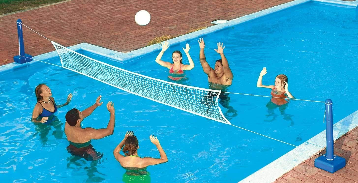 Pool Volleyball Nets What Are The Best Volleyball Net Sets Swimming Pools Inground Pool Volleyball Net Swimming Pool Toys