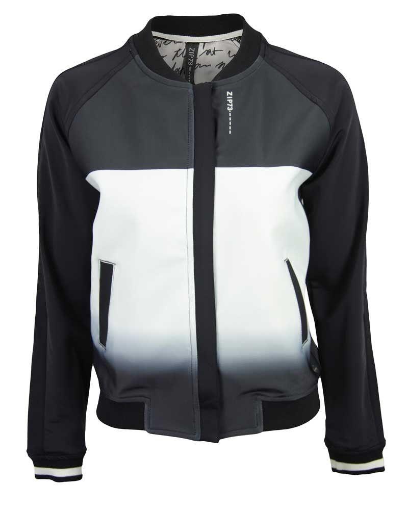 Zip73 808030 blazer zwart | Zwart, Mode, Bomberjack