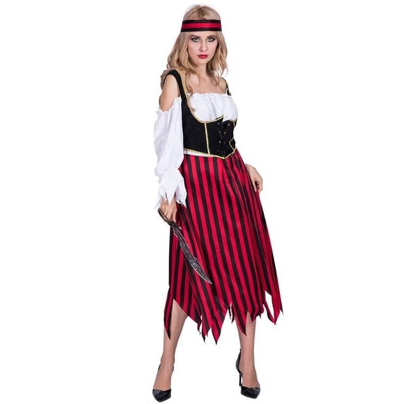 Costumes & Accessories Women's Costumes New Sexy Pirate Woman Costume Ladies Halloween Fancy Dress Cosplay Costumes Girl Dress In Carnivals