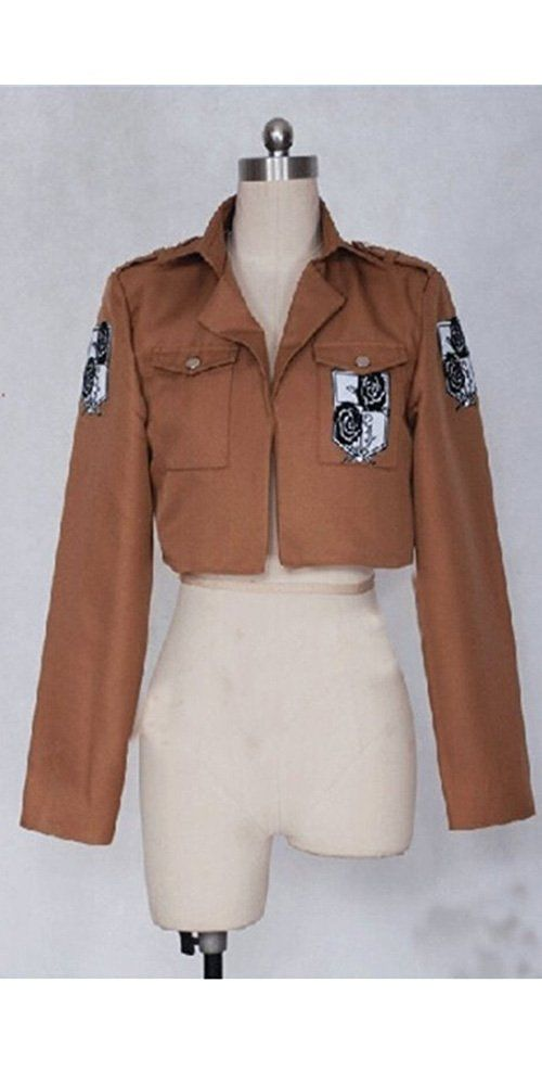CosEnter Anime Attack on Titan Stationary Guard Coat Cosplay Costume * You can find out more details at the link of the image.