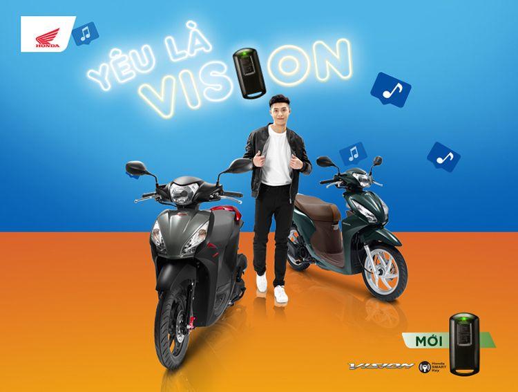 Xe May Honda Vision 2019 Bản đặc Biệt Smartkey 34 200 000đ Trong 2020 Xe May Honda Honda Xe May