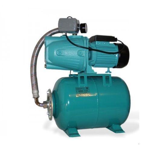 Wasserpumpe 60 l/min 1,1 kW 230V 50 L Druckkessel Hauswasserwerk ...