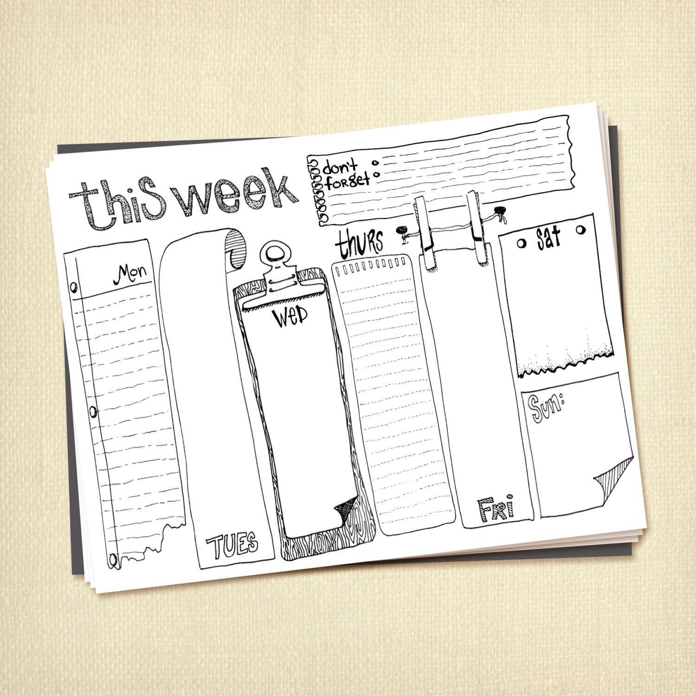 Weekly | Bullet | Pinterest | Caligrafía, Apuntes y Colegios