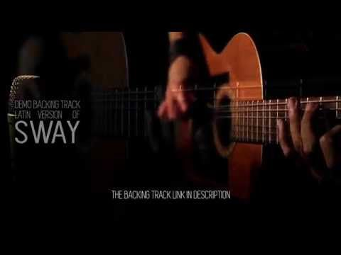 sway latin demo guitar backing track - YouTube | backing