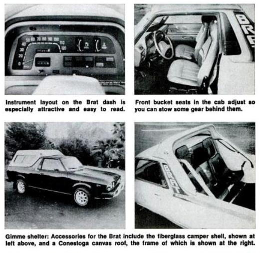 #Subaru #BRAT featured in the March 1978 edition of Popular Mechanics Magazine. #vintage #retro