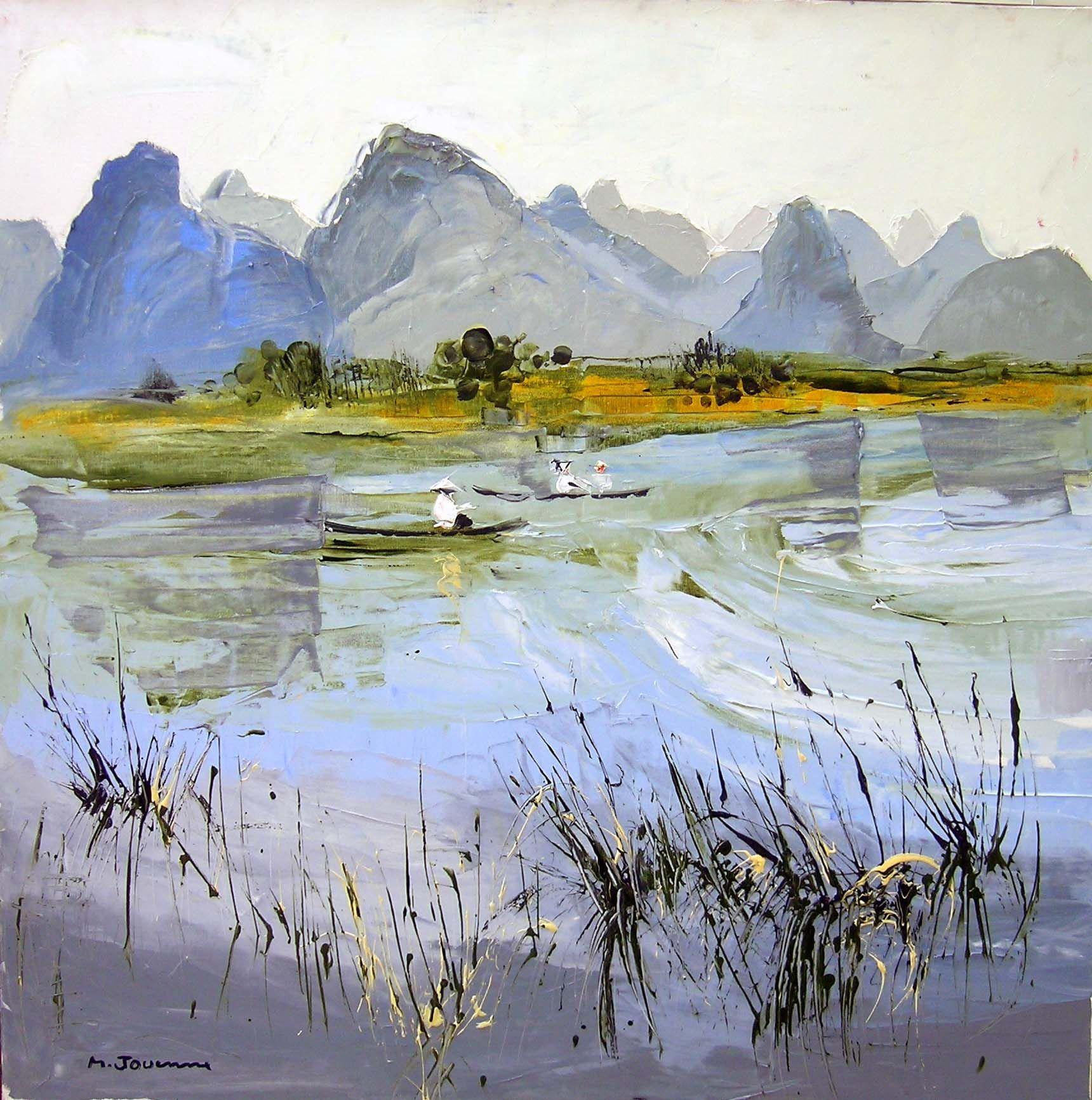 Michel jouenne artiste peintre est sur kelexpo http www for Biographie artiste peintre