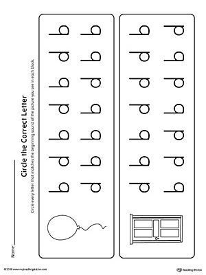 Prepositional Phrase Worksheet 5th Grade Bd Letter Reversal Match Beginning Sound Worksheet  Worksheets  English Worksheets For Beginners Pdf with Context Clues Free Worksheets Word Bd Letter Reversal Match Beginning Sound Worksheet Indirect Objects Worksheet Excel