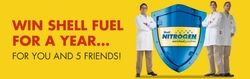 Win Shell Gasoline for a Year for You and 5 Friends!