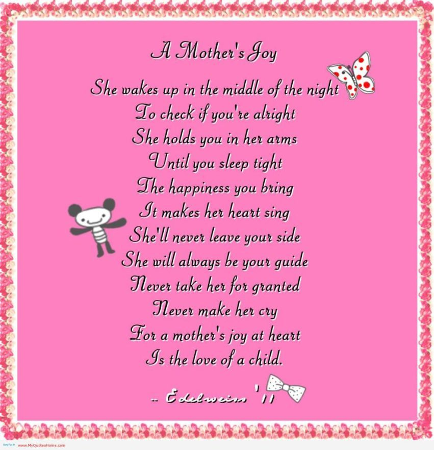 heartfelt-quotes-about-a-mother-9 | GLAVO QUOTES | Quotes & Poems ...