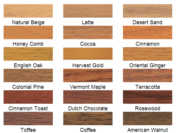 Wood Stain Color Minwax Water Based Reclaimed Wood Furniture Wood Stain Colors Minwax Staining Wood Wood Stain Colors