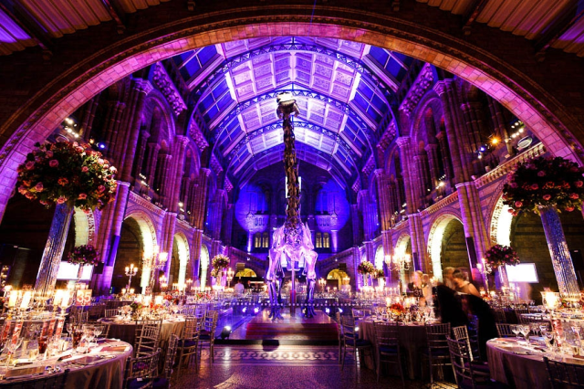 Natural History Museum Wedding 163 20 000 Venue London