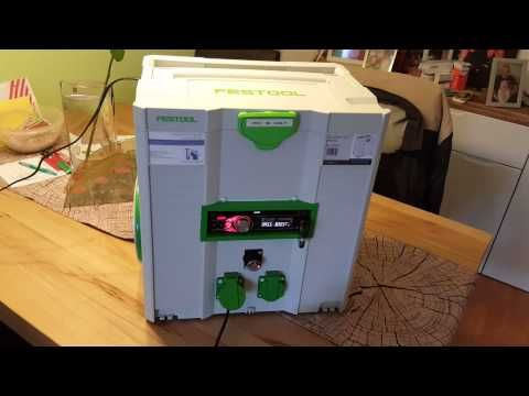 Verwonderlijk Festool Systainer - Media & Power Hub - YouTube | Systainer in JD-46