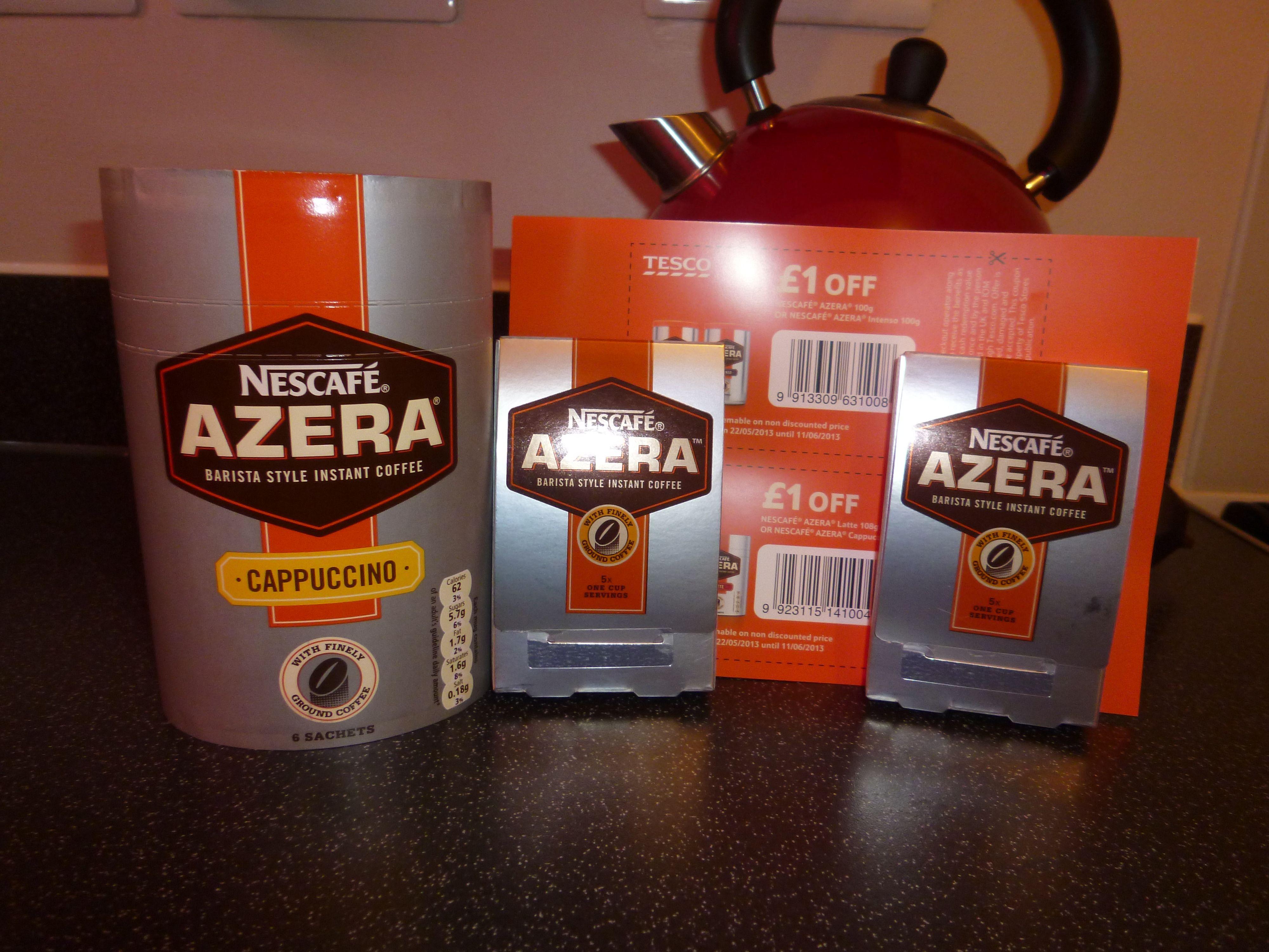 GotItFree I`m a Bzzagent! Nescafe azera, Nescafe