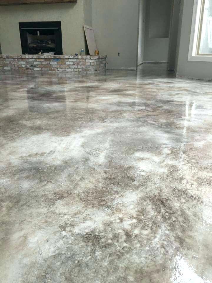 Park Art|My WordPress Blog_Gray Stained Concrete Basement Floor