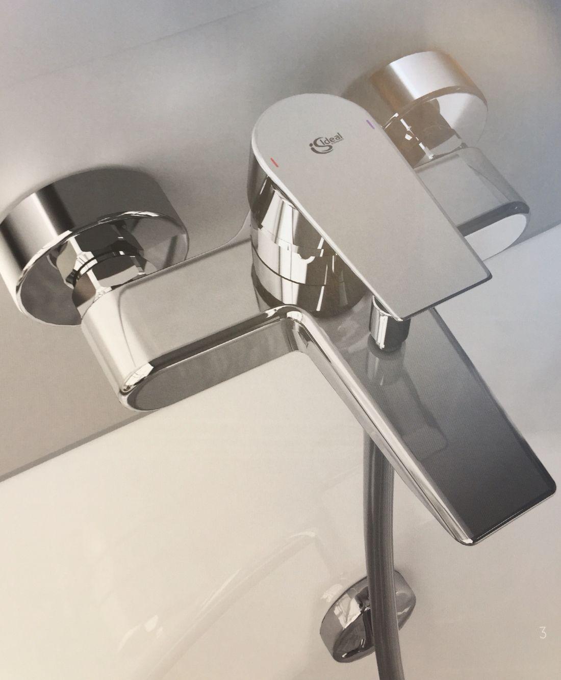 Accessori Per Doccia Ideal Standard.Miscelatore Ceramix Esterno Vasca Doccia Con Accessori