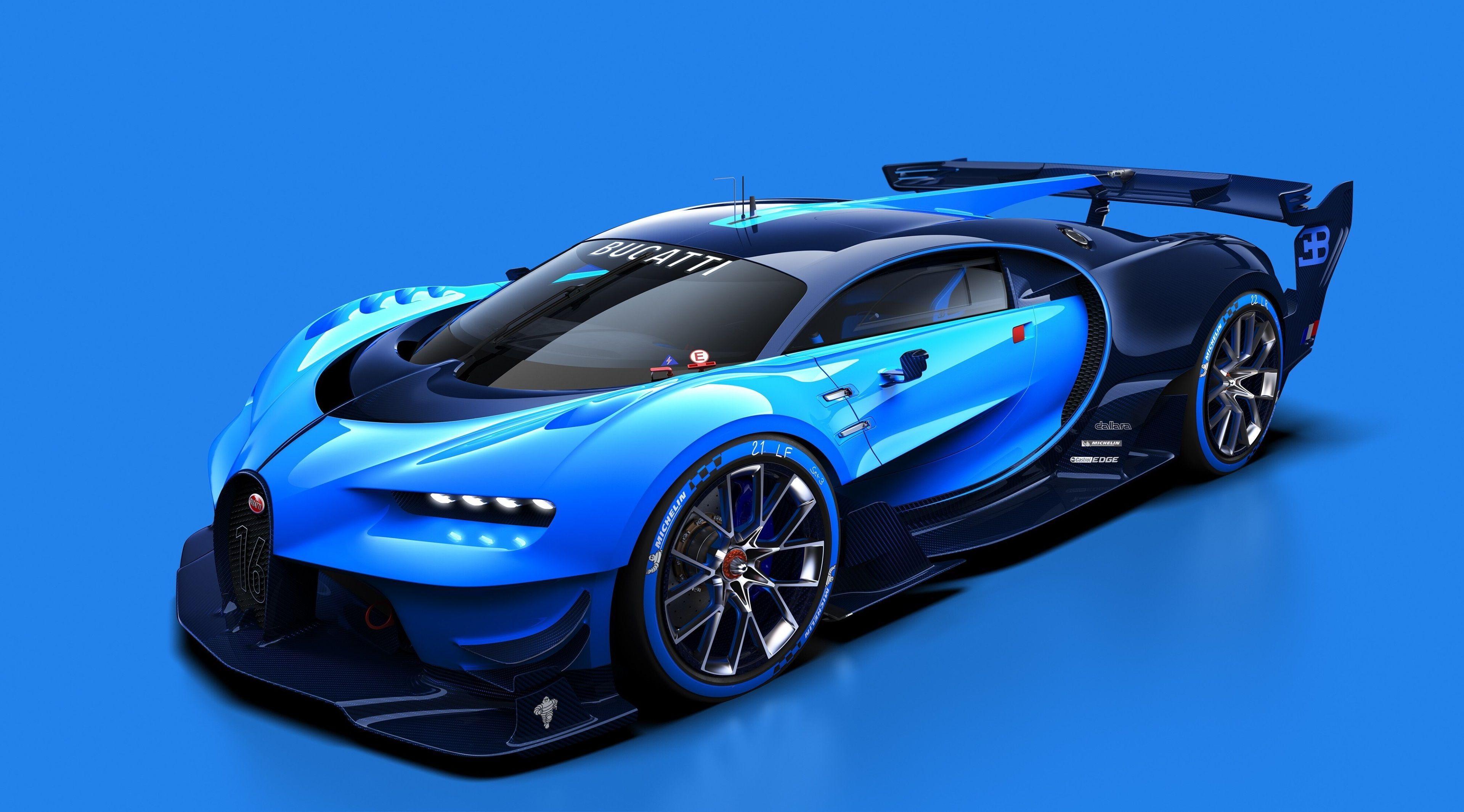 Bugatti vision wallpaper