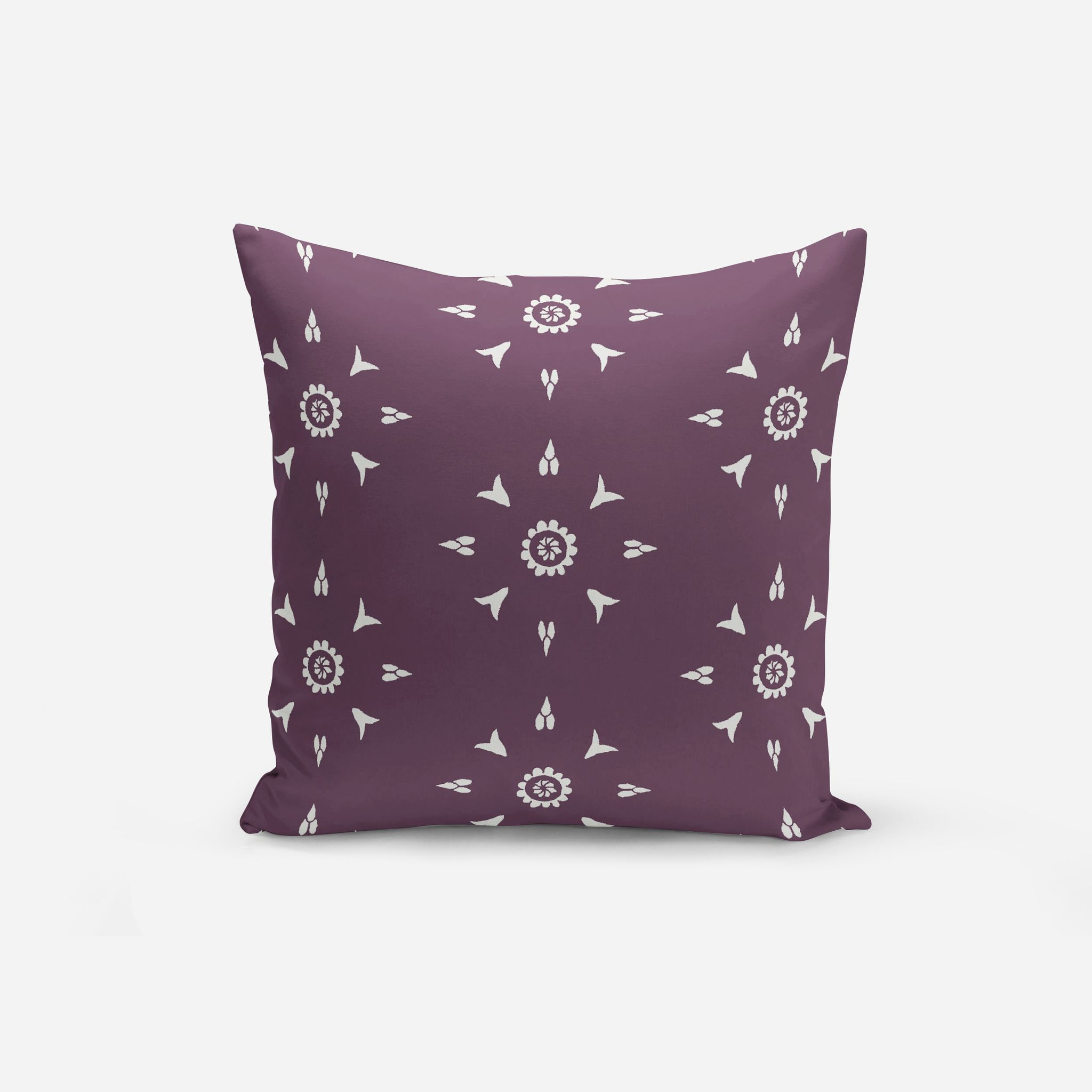 pillow decorative cover cushion itm purple inch simple spandex pillows sofa cases throw