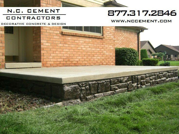 DCP 22 Decorative concrete patio, Concrete patio