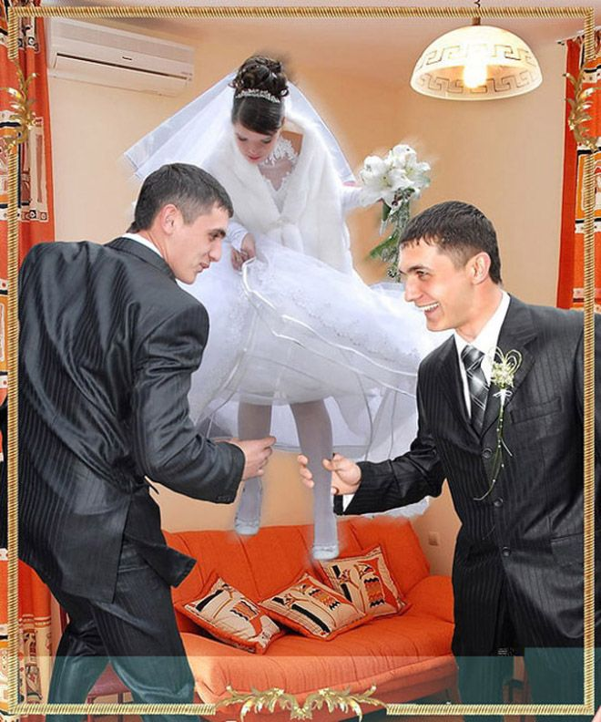 Funny Wedding Photos Traditional Russian Click Here And See - 30 unexplainable russian wedding photos ever