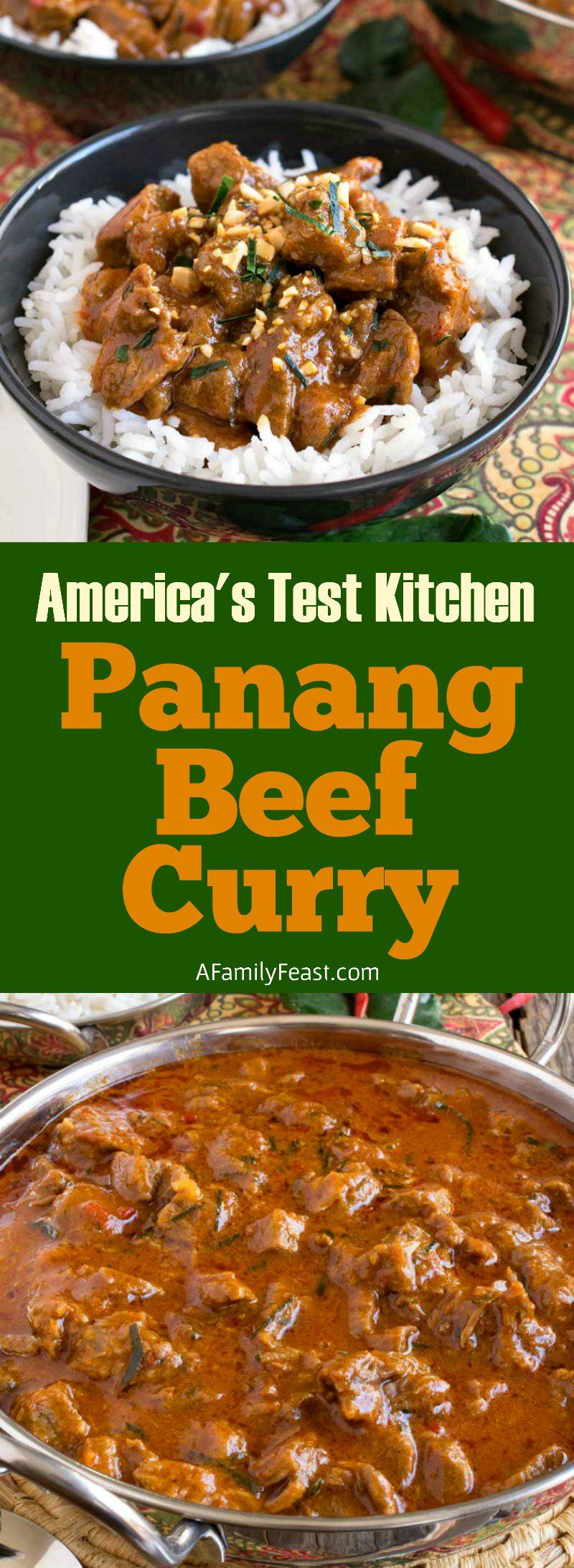Panang Curry Beef Recipe