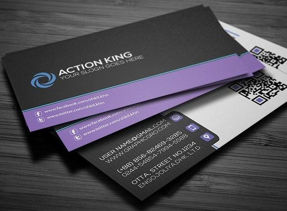 Free Black Violet Creative Business Card Template Psd Titanui Business Cards Creative Templates Business Cards Creative Business Cards Mockup Psd