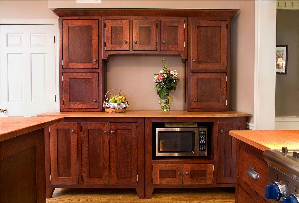 same lizell mill, freestanding cabinet maker. cherry shaker ...