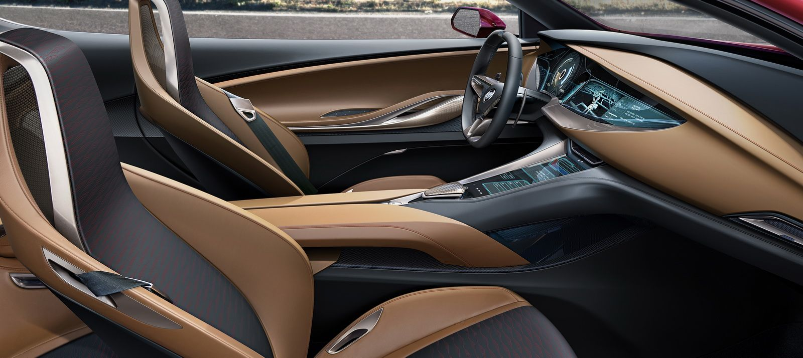Buick Avista Concept Still Makes Us Wish They D Build It Carscoops Buick Avista Concept Car Interior Design Custom Car Interior