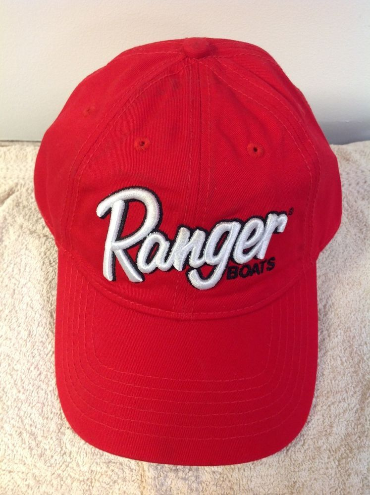 6f0fc772b36 Ranger Boats Fishing Cap. Red with Ranger White Stitch  fashion  clothing   shoes  accessories  mensaccessories  hats (ebay link)