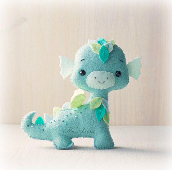 Dragones. Patrón PDF. por Noialand en Etsy | DIY ♥ | Pinterest ...
