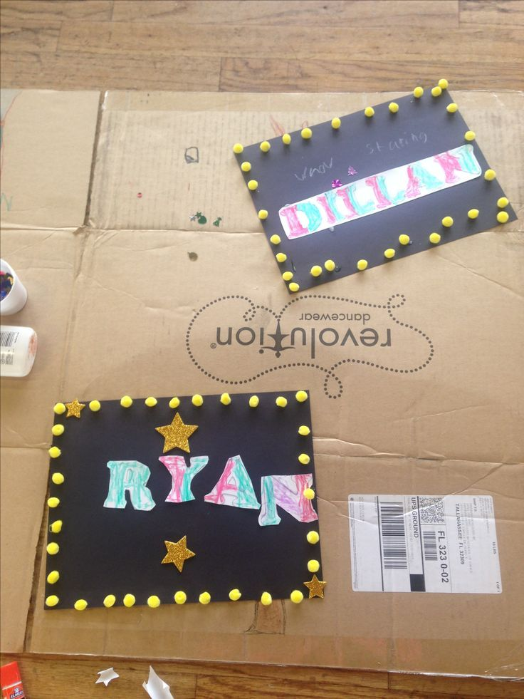 Name in Lights Craft for Kids