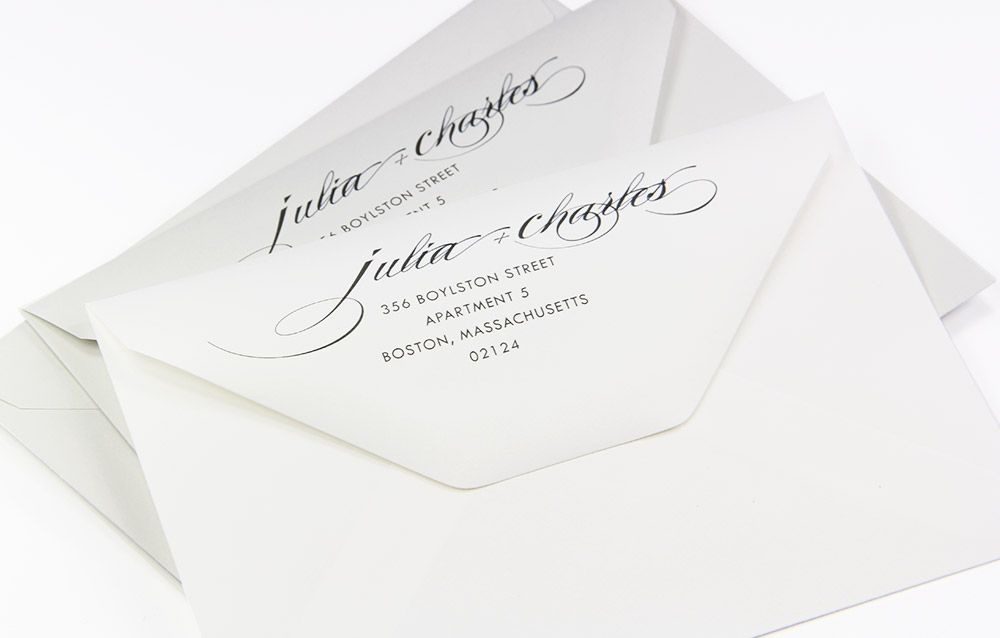 Invite Inspiration Elegant Custom Printed Cotton Envelopes Printing Wedding Invitations Addressing Envelopes Wedding Wedding Invitation Envelopes