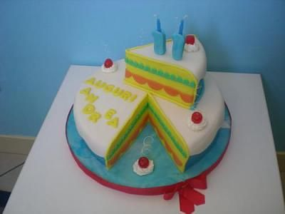 torta a forma di torta