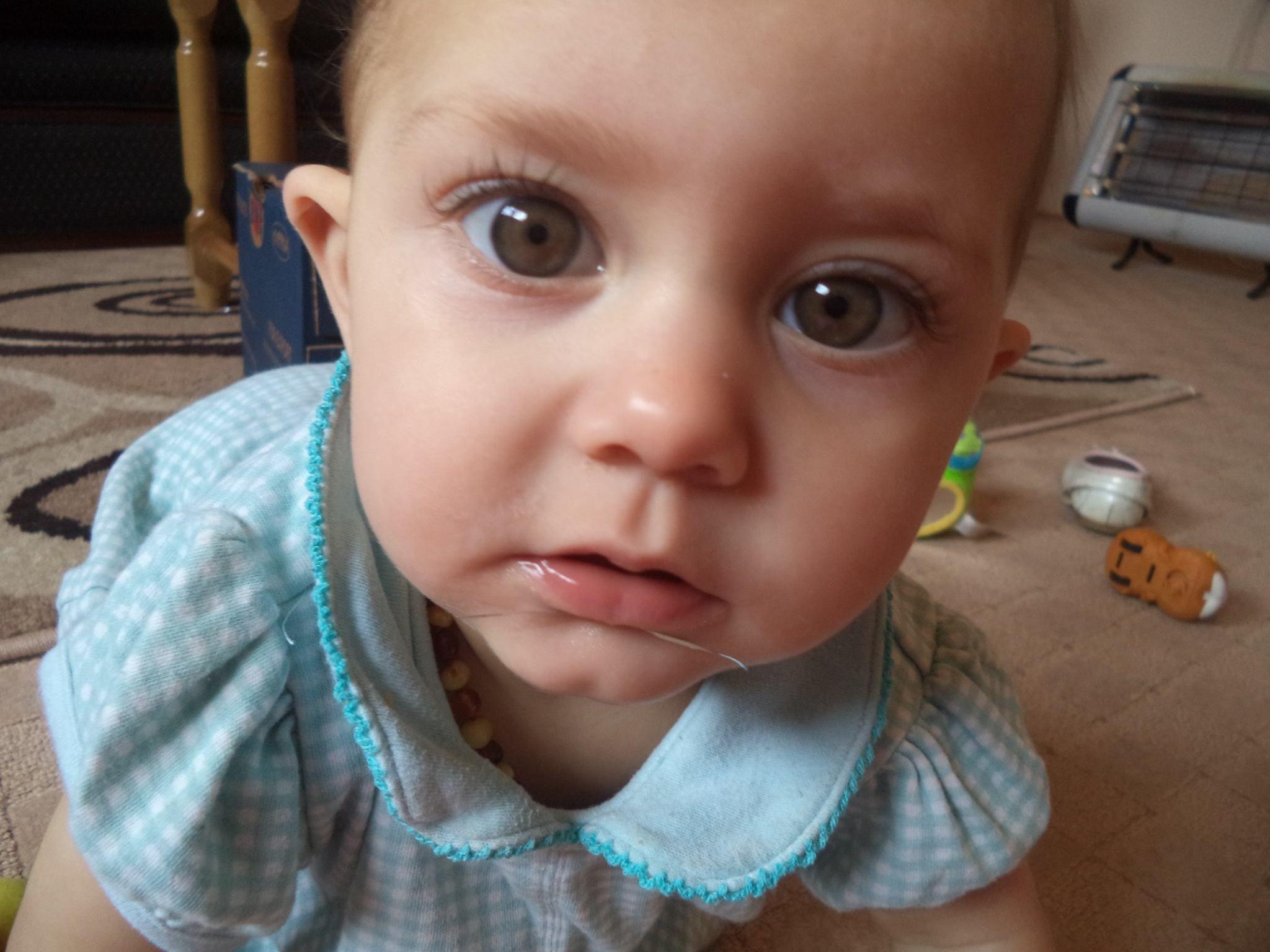 My beautiful baby girl.