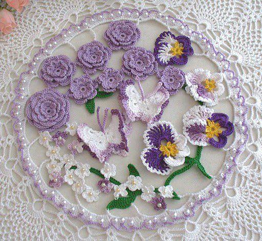 viole e farfalle