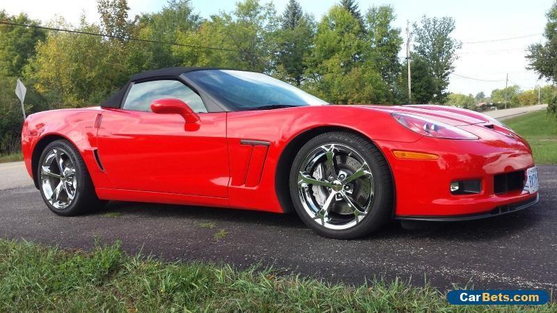 2013 Chevrolet Corvette Convertible Grand Sport w/4LT