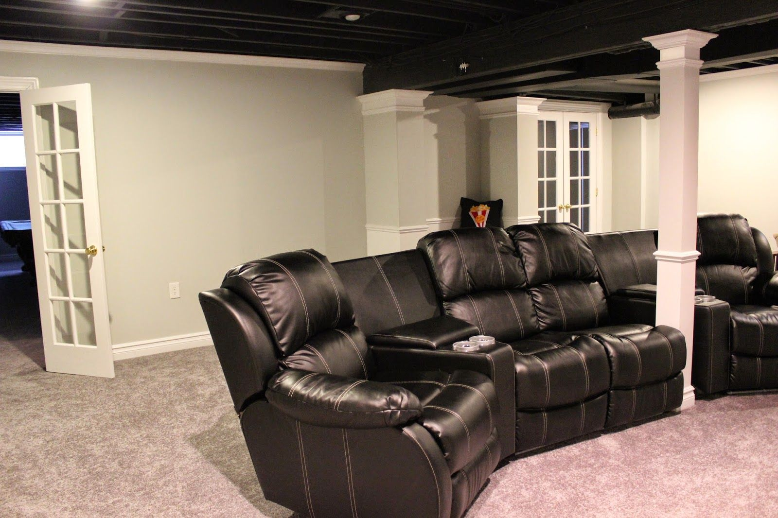 Club Basement Ideas Painting 101 smart home remodeling ideas on a budget | open ceiling
