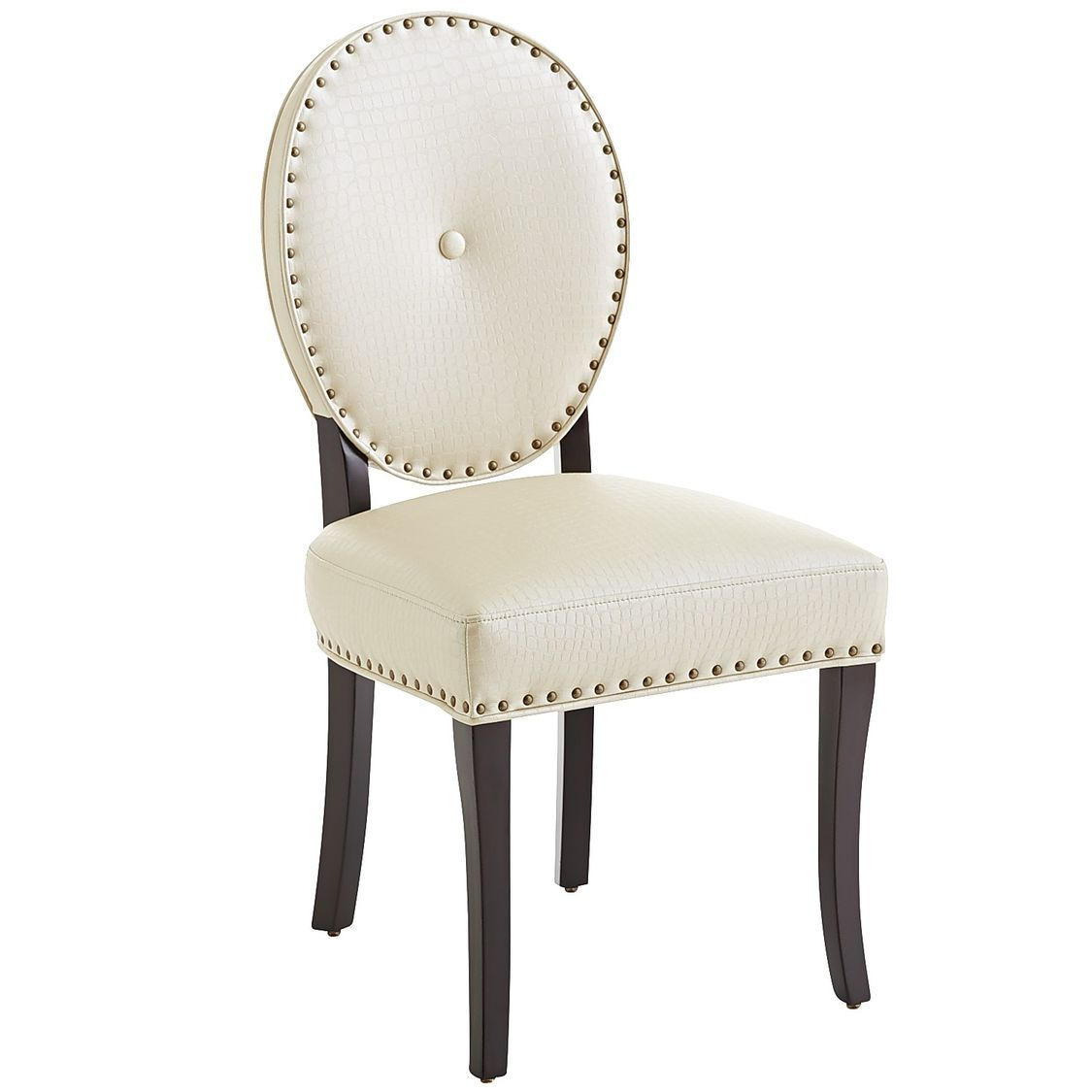Marvelous Cadence Dining Chair Alabaster Leather 169 95 At Pier 1 Creativecarmelina Interior Chair Design Creativecarmelinacom