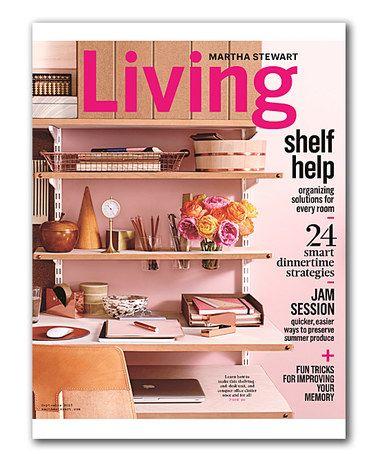 Look at this #zulilyfind! Martha Stewart Living Magazine ...
