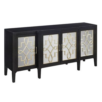 Coast To Imports Manry Mirrored Sideboard Reviews Wayfair Ca