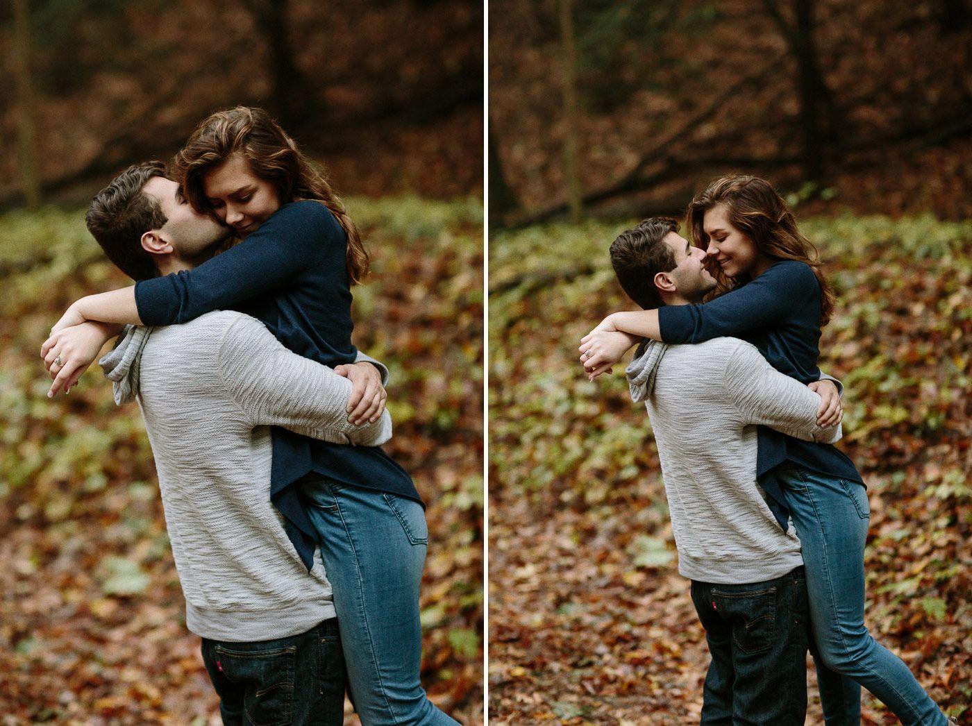 Guy Kissing Girl S Cheek
