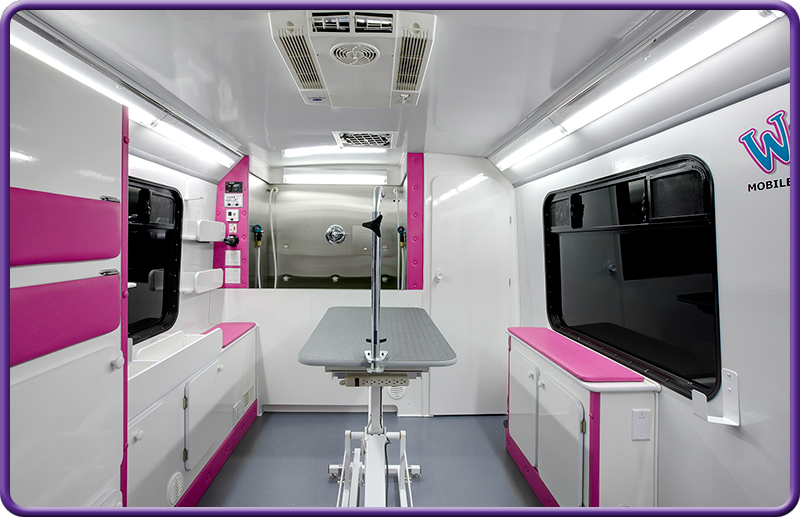 Grooming Caravan Mobile Pet Grooming Pet Grooming Business Dog Grooming Salons