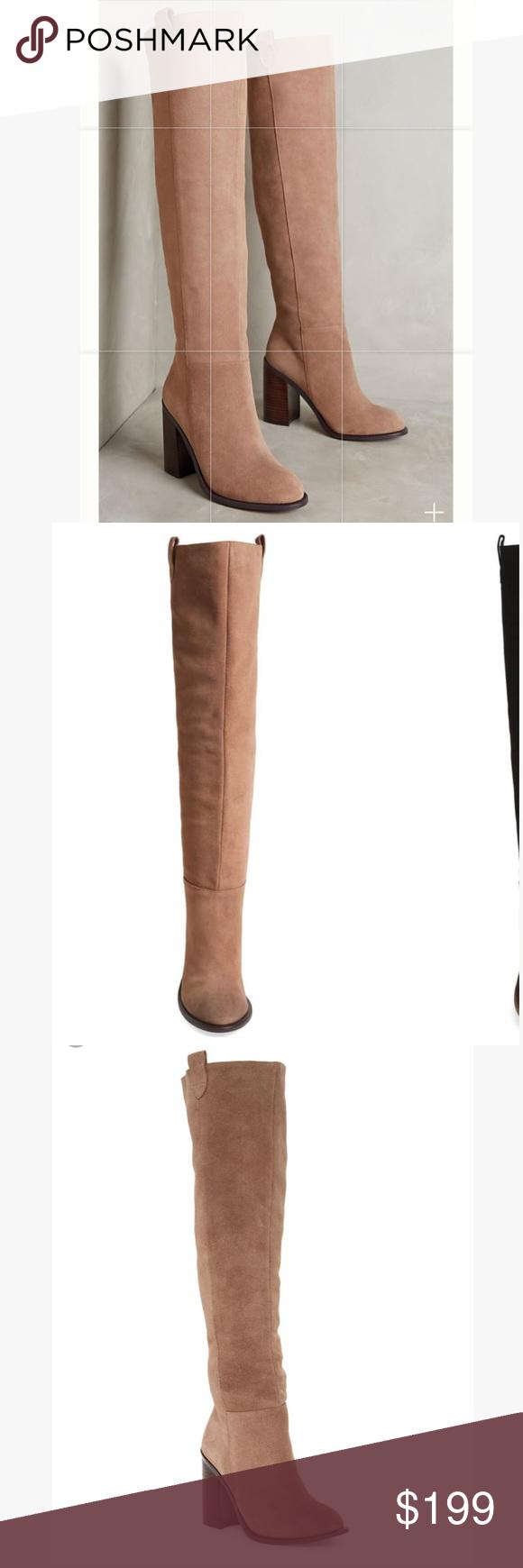 9122bf28de8 Kelsi Dagger Brooklyn Harman Tall Boot Kelsi Dagger Brooklyn Harman Tall  Boot •size  7.5 •color  latte •tall over the knee boots •3.5